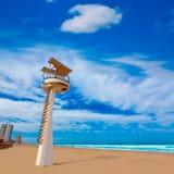 Пляж Manga Del Mar Menor Ла в Мурсии Испании Стоковое Фото