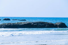 Пляж Mangalore на своем самое лучшее Стоковые Фото