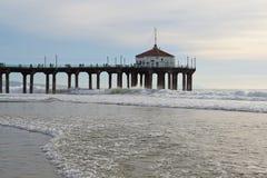 пляж manhattan Стоковое Изображение RF