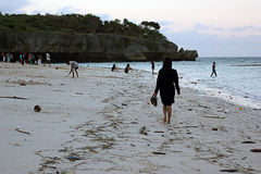 Пляж Marumasa Стоковое Изображение RF