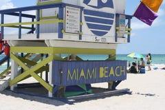пляж miami Стоковое Изображение RF