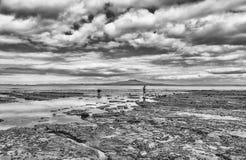 Пляж Milford Стоковое Изображение RF