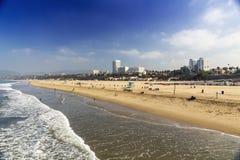 пляж monica santa Стоковые Фото