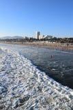 пляж monica santa Стоковые Изображения