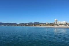 пляж monica santa Стоковая Фотография