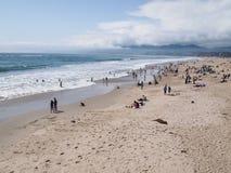 пляж monica santa Стоковое Изображение RF