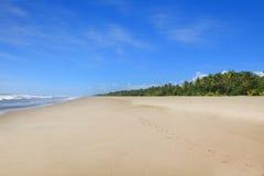 Пляж Montelimar Стоковые Изображения