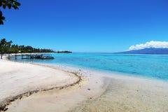 Пляж Moorea Стоковая Фотография RF