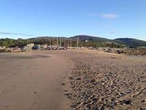 Пляж Mossyard Стоковое Фото