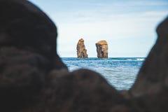Пляж Mosteiros Стоковые Изображения