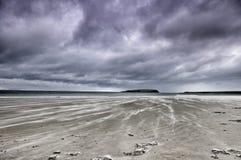 Пляж Mulranny, графство Mayo Стоковое Фото