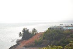 Пляж Murudeshwar Стоковая Фотография
