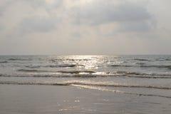 Пляж Murudeshwar Стоковая Фотография RF