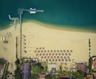 Пляж Mussulo, Луанда, Ангола Стоковые Фотографии RF