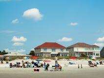 Пляж Myrtle стоковые фотографии rf