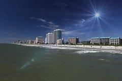 Пляж Myrtle Стоковое фото RF