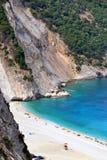Пляж Myrtos, Греция Стоковые Изображения RF
