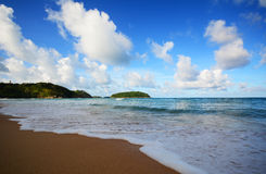 Пляж Nai Harn Стоковое фото RF