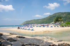 Пляж Nai Harn стоковые изображения