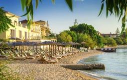 Пляж Nikiana, Греция Стоковые Изображения