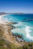 Пляж Noordhoek, Кейптаун Стоковая Фотография