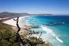 Пляж Noordhoek, Кейптаун Стоковые Изображения RF