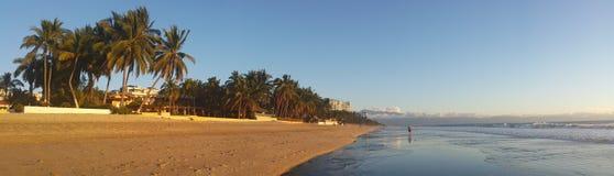 Пляж Nuevo Vallarta стоковые фото