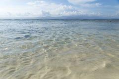 Пляж Nusa Lembongan, Бали, Индонезия Стоковые Фотографии RF