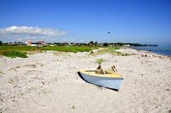 Пляж Nyborg Стоковое Изображение RF