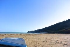 Пляж Ortona (естественный запас побережья) стоковое изображение