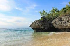 Пляж Padang Padang - Бали, Индонезия Стоковое Изображение