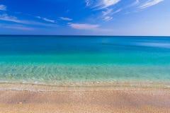 Пляж Paleochori, Milos остров, Киклады, эгейские, Греция Стоковая Фотография