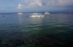 Пляж Panagsama Стоковые Изображения