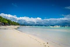 Пляж Panglao - Dumaluan Стоковое Фото