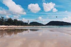 Пляж Patong, Пхукет, Таиланд 01 Стоковая Фотография