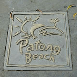 Пляж Patong Стоковые Изображения