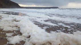 Пляж Penbryn Стоковое Изображение RF