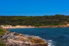 Пляж Perouse Ла в Сиднее Австралии Стоковая Фотография
