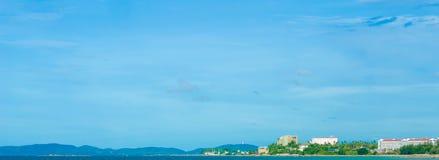 Пляж Phayun и Phala на Rayong Таиланде Стоковая Фотография RF