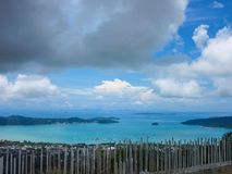 пляж phuket Таиланд Стоковые Изображения