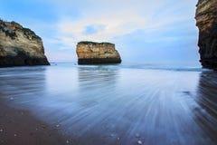 Пляж Pinhão Стоковое Изображение RF