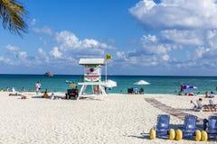 Пляж Playa del Carmen Мексики Стоковые Фото