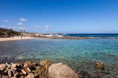 Пляж Playa Kanao Стоковые Изображения