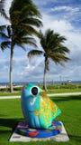 Пляж Pompano в Флориде Стоковые Изображения RF