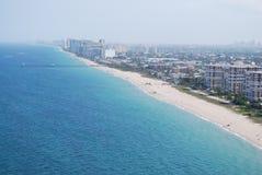 Пляж Pompano Стоковые Изображения RF