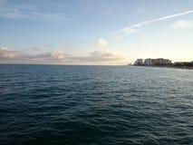 Пляж Pompano Стоковое фото RF
