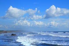 Пляж Poneloya Стоковое фото RF