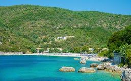 Пляж Poros, Греция Стоковое Изображение RF