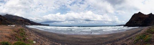 Пляж Prainha Sao Nicolau острова Стоковые Изображения