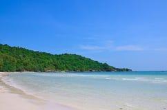 Пляж quoc Phu красивый Стоковое Изображение
